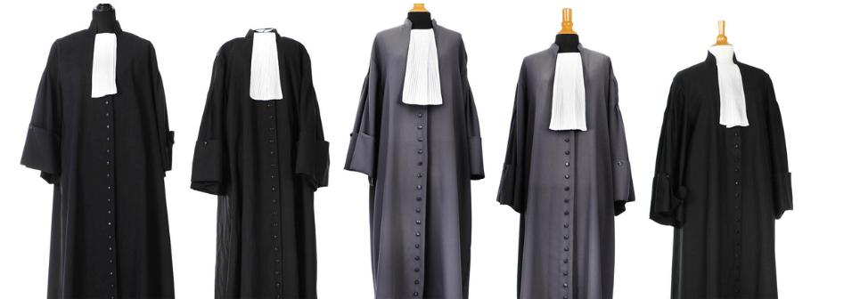 Advocaten kostuums