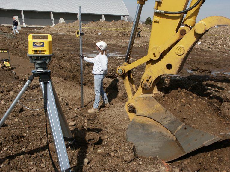 waterpas meten met de bouwlaser